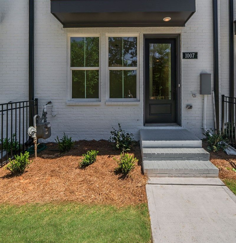 Exterior featured in the Austin By David Weekley Homes in Atlanta, GA
