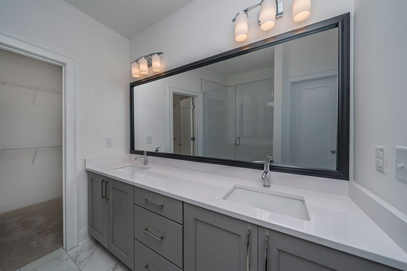Bathroom featured in the Austin By David Weekley Homes in Atlanta, GA