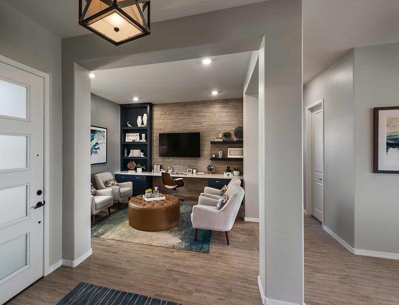 Living Area featured in the Azalea By David Weekley Homes in Phoenix-Mesa, AZ