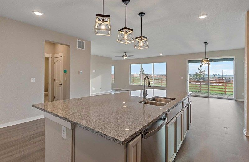 Kitchen featured in the Warren By David Weekley Homes in Fort Collins-Loveland, CO