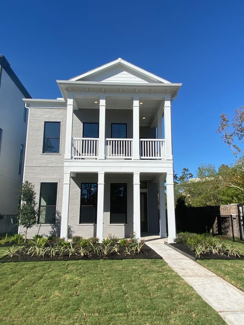 Exterior featured in the Ridgewood By David Weekley Homes in Houston, TX