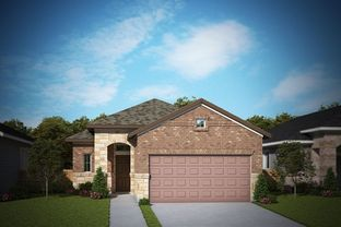 Dickinson - Berry Creek - Hidden Oaks: Georgetown, Texas - David Weekley Homes