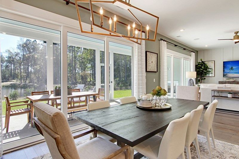 Living Area featured in the Keaton By David Weekley Homes in Charleston, SC