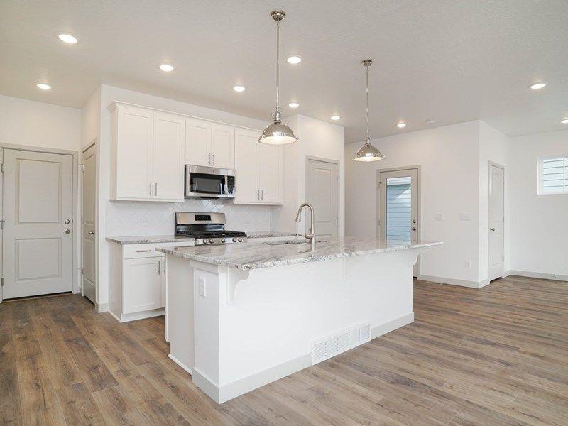 Kitchen featured in the Clayton By David Weekley Homes in Salt Lake City-Ogden, UT