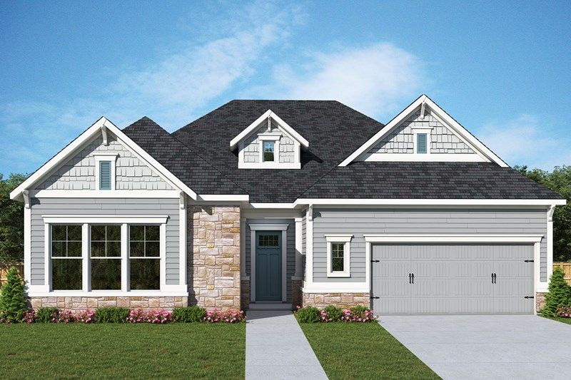 Exterior featured in the Lockview By David Weekley Homes in Atlanta, GA