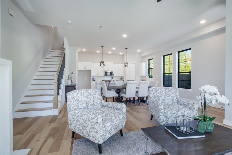 Living Area featured in the Ridgewood By David Weekley Homes in Houston, TX