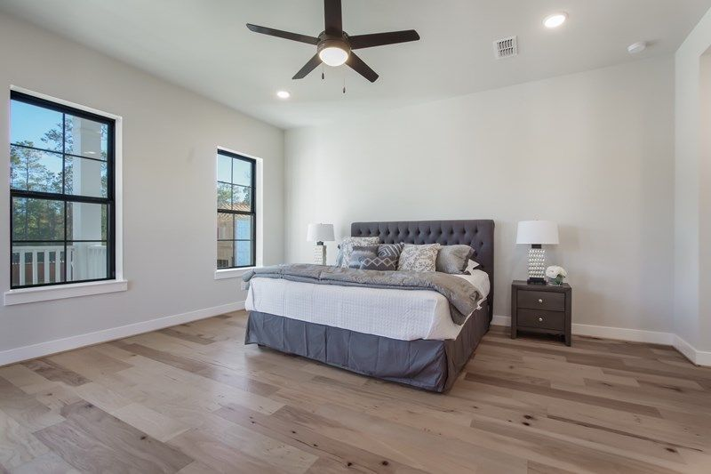 Bedroom featured in the Ridgewood By David Weekley Homes in Houston, TX