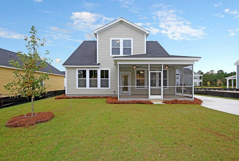Exterior featured in the Towerstone By David Weekley Homes in Charleston, SC