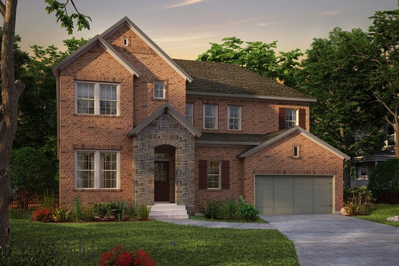 Exterior featured in the Harrison By David Weekley Homes in Nashville, TN
