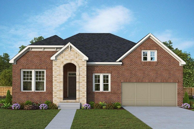 Exterior featured in the Nocona By David Weekley Homes in Nashville, TN