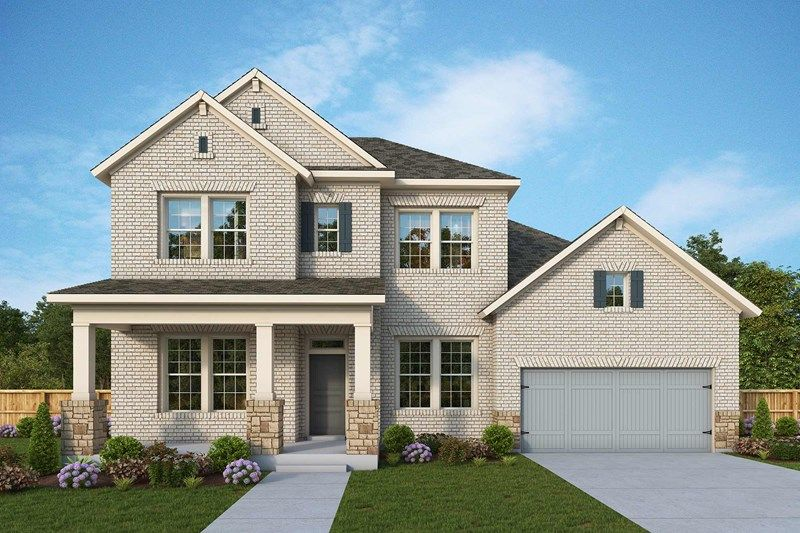 Exterior featured in the Denbrook By David Weekley Homes in Nashville, TN