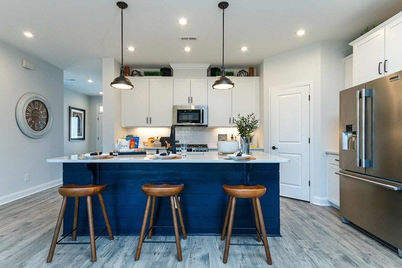 Kitchen featured in the Wainwright By David Weekley Homes in Raleigh-Durham-Chapel Hill, NC