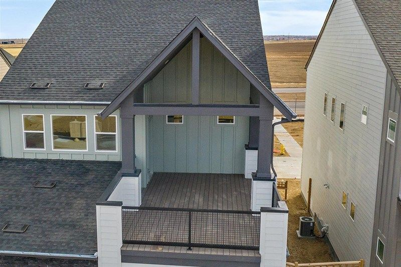 Exterior featured in the Emma By David Weekley Homes in Denver, CO