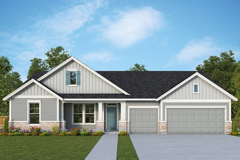 Exterior featured in the Bryson By David Weekley Homes in Portland-Vancouver, WA