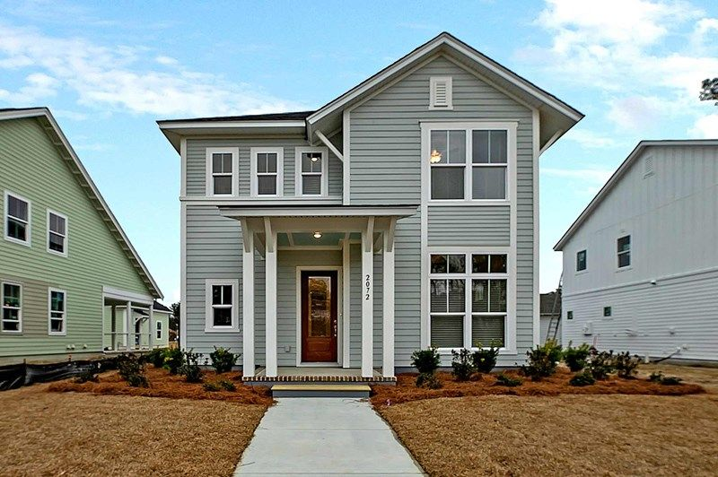 Exterior featured in the Snyder By David Weekley Homes in Charleston, SC