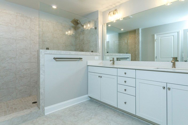 Bathroom featured in the Oakwood By David Weekley Homes in Raleigh-Durham-Chapel Hill, NC