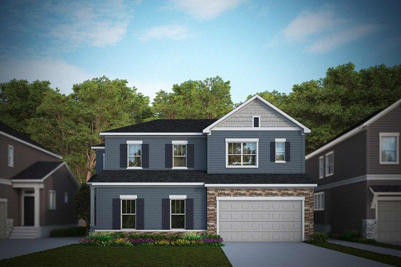 Exterior featured in the Greenridge By David Weekley Homes in Fort Collins-Loveland, CO