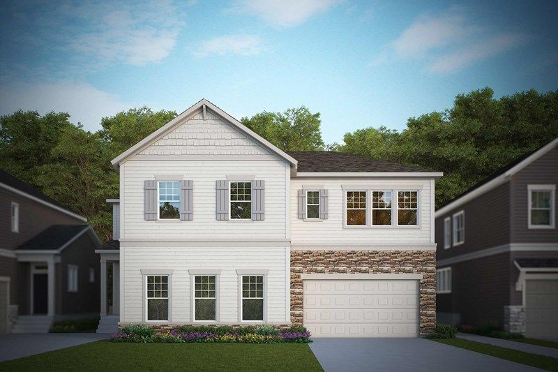 Exterior featured in the Highgrove By David Weekley Homes in Fort Collins-Loveland, CO