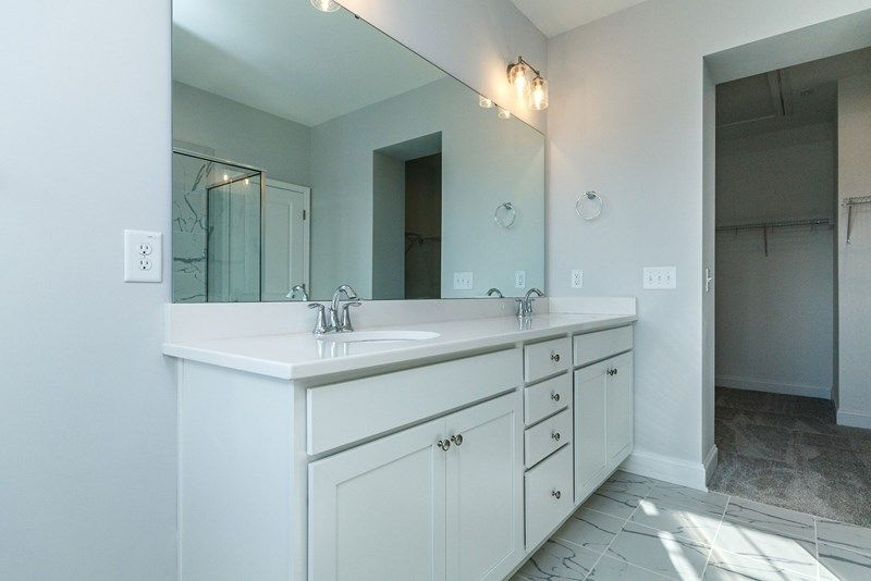 Bathroom featured in the Roslynn By David Weekley Homes in Raleigh-Durham-Chapel Hill, NC