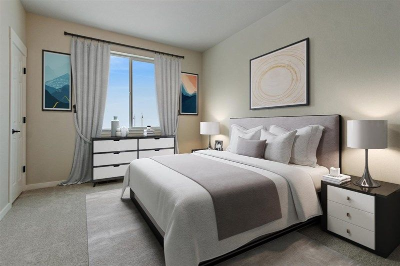 Bedroom featured in the Fletcher By David Weekley Homes in Denver, CO