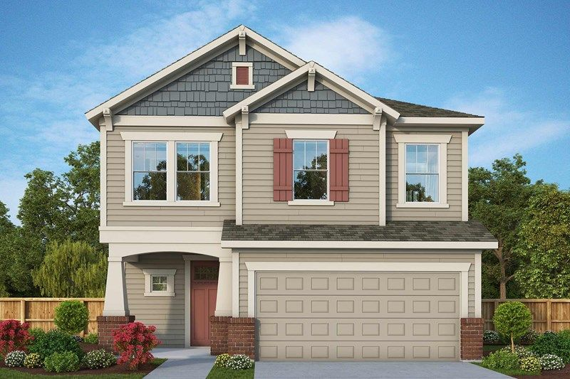 Exterior featured in the Elsner By David Weekley Homes in Jacksonville-St. Augustine, FL