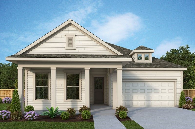 Exterior featured in the Minter By David Weekley Homes in Jacksonville-St. Augustine, FL