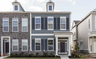 Gramercy West Townhomes by David Weekley Homes in Indianapolis Indiana