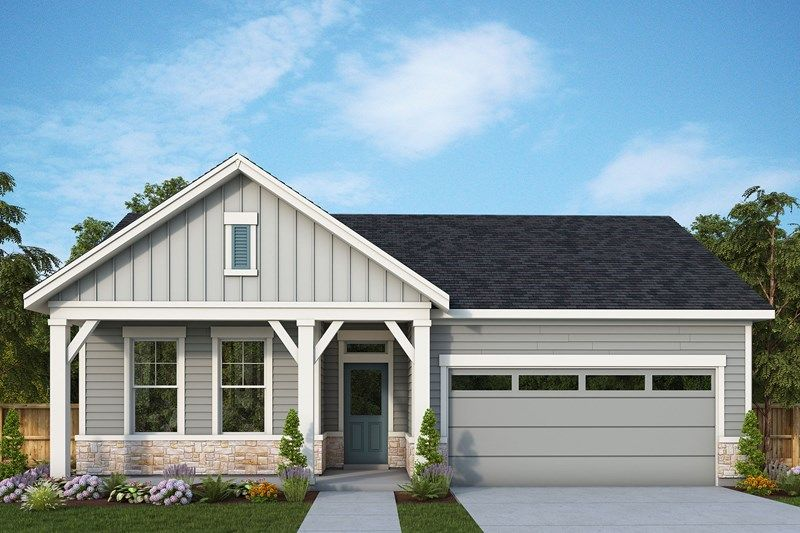 Exterior featured in the Stemmons By David Weekley Homes in Portland-Vancouver, OR