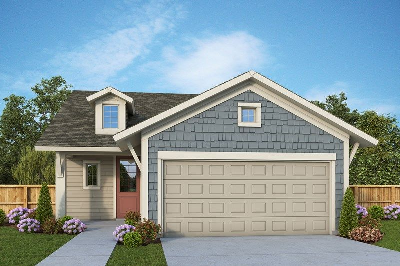 Exterior featured in the Atwood By David Weekley Homes in Jacksonville-St. Augustine, FL