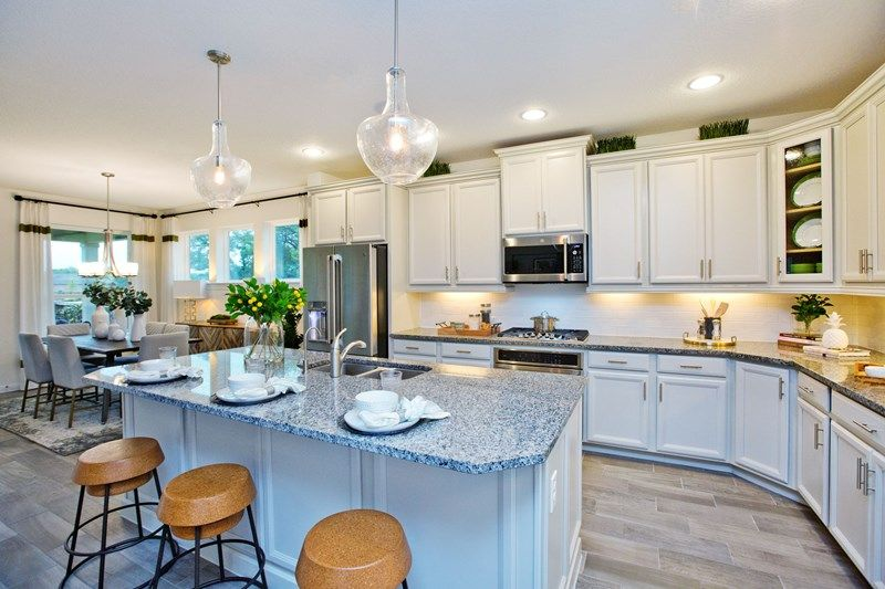 Kitchen featured in the Latham By David Weekley Homes in San Antonio, TX
