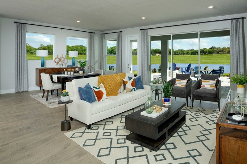 Living Area featured in the Captiva By David Weekley Homes in Sarasota-Bradenton, FL