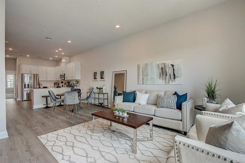 Living Area featured in the Alandale By David Weekley Homes in Orlando, FL