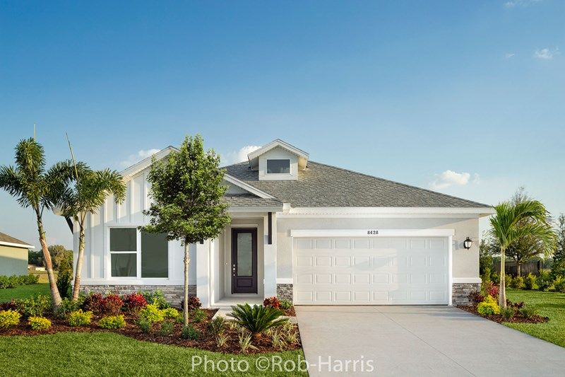 Exterior featured in the Captiva By David Weekley Homes in Sarasota-Bradenton, FL