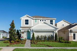 Liberty - West End at Nocatee Town Center 40' Front Load: Ponte Vedra, Florida - David Weekley Homes