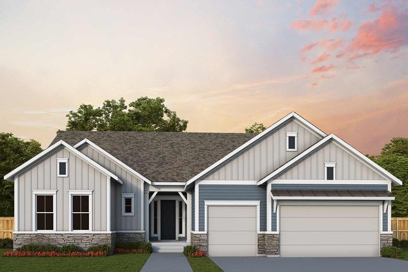 Exterior featured in the Hubbard By David Weekley Homes in Denver, CO