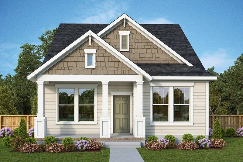 Exterior featured in the Higgins By David Weekley Homes in Charleston, SC