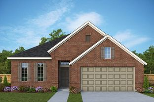 Griggs - Lakes of River Trails: Fort Worth, Texas - David Weekley Homes
