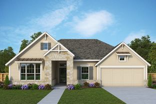 Ridgegate - The Crossvine 60': Schertz, Texas - David Weekley Homes