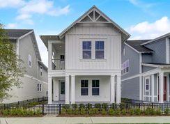 Boardwalk - Oakland Park - Courtyard Series: Winter Garden, Florida - David Weekley Homes