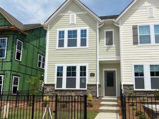 Montgomery - Villa Heights - Townhome Collection: Charlotte, North Carolina - David Weekley Homes