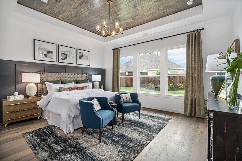 Bedroom featured in the Birkshire By David Weekley Homes in Houston, TX