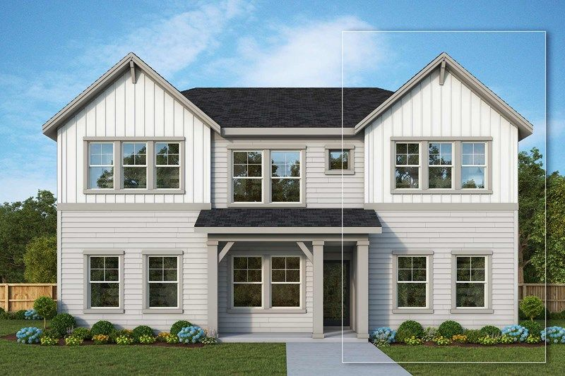 Exterior featured in the Ross Island By David Weekley Homes in Portland-Vancouver, OR