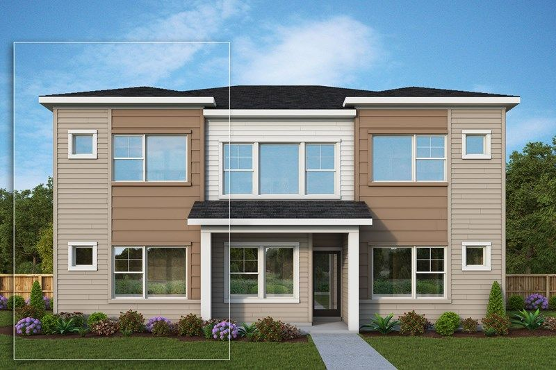 Exterior featured in the Marquam By David Weekley Homes in Portland-Vancouver, OR