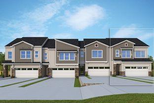 Abbott - Briar Chapel Townhomes: Chapel Hill, North Carolina - David Weekley Homes