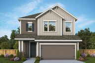 The Oaks on Chisholm Trail - 38' by David Weekley Homes in Austin Texas
