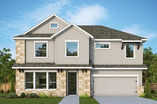 Crenshaw - The Oaks on Chisholm Trail – 44': Round Rock, Texas - David Weekley Homes