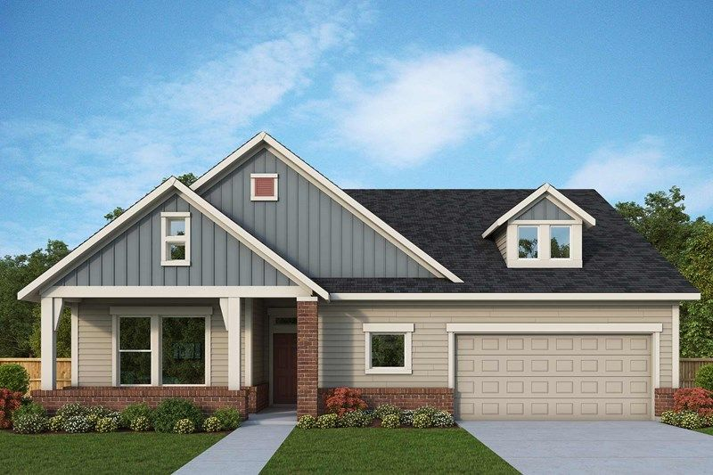 Exterior featured in the Paisley By David Weekley Homes in Austin, TX