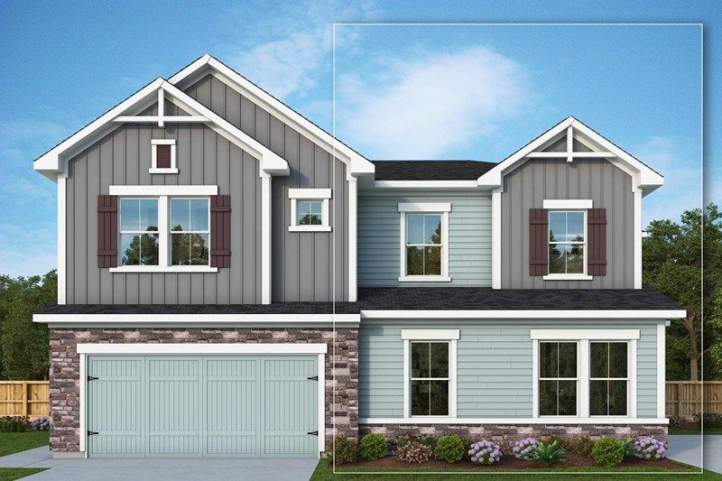 Exterior featured in the Lovenia By David Weekley Homes in Provo-Orem, UT