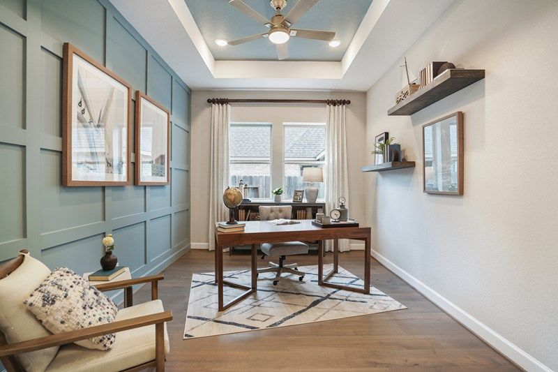 Living Area featured in the Birkshire By David Weekley Homes in Houston, TX