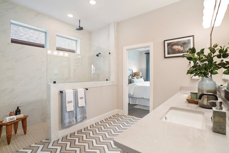 Bathroom featured in the Birkshire By David Weekley Homes in Houston, TX